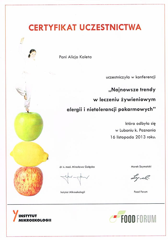 Konferencja Najnowsze trendy w dietetyce