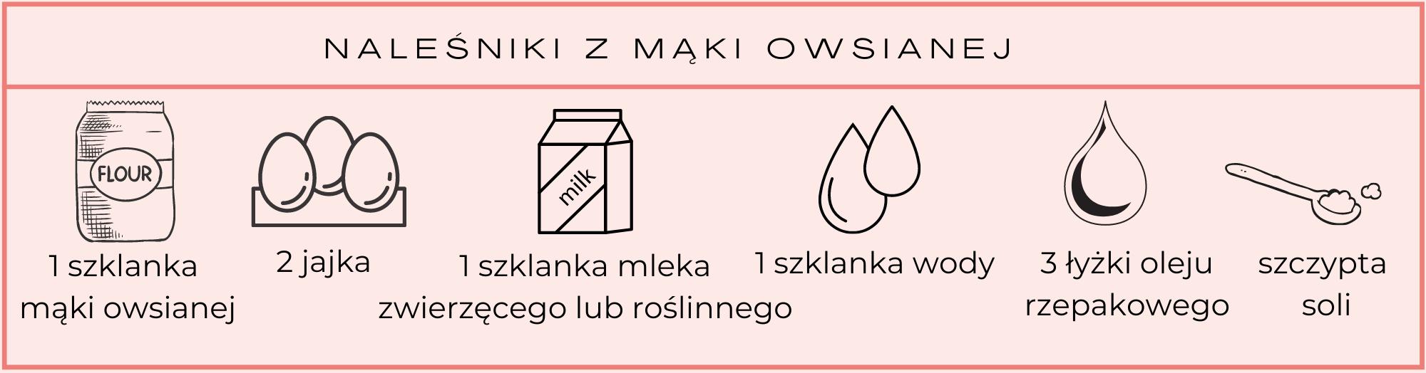 naleśniki z mąki owsianej