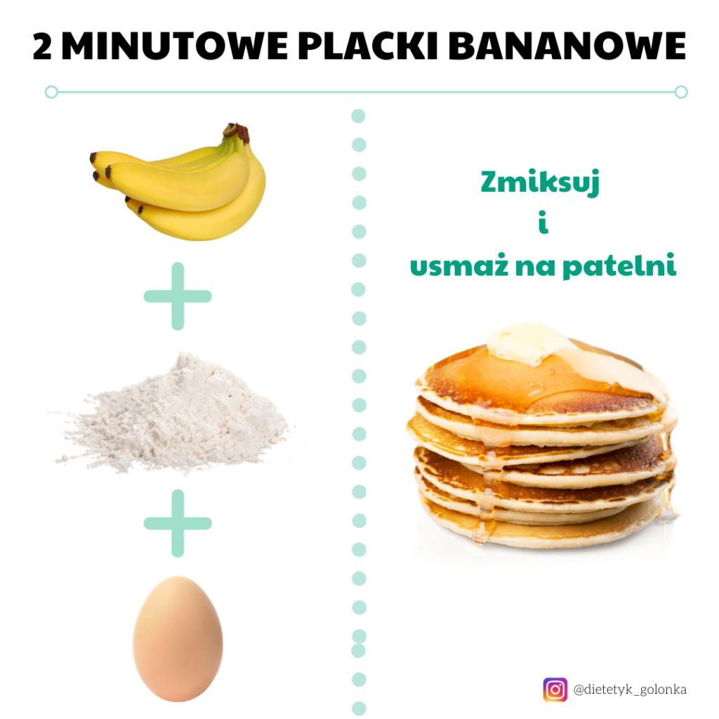 Placki bananowe