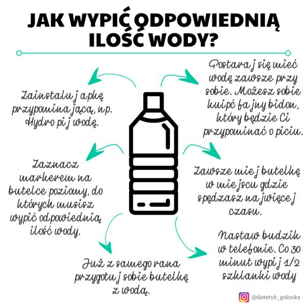 Jak wypić dobrą ilość wody